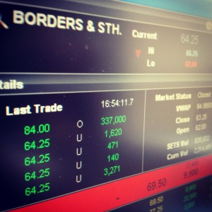 Borders and Southern Shares
